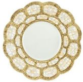 Sublime Scalloped Mirror