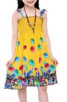 Moyishi Little Big Girls' Long Dress or Bolero Casual Beach Dress Size 3-12
