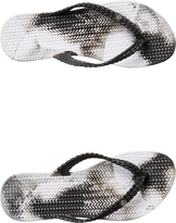 Billabong Womens Summer Dazed Marble Thong Black