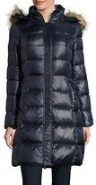 Kate Spade Faux Fur-Trimmed Down Puffer Coat