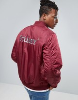 Stussy Bomber Jacket With Back Print