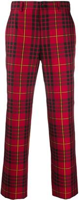 Comme des Garçons Homme Plus Check Straight-Leg Trousers