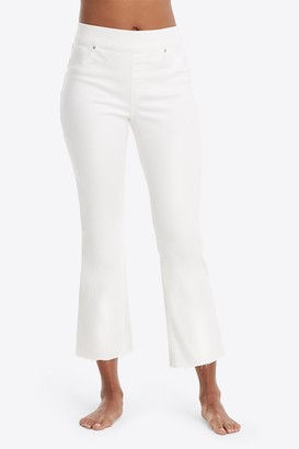 Spanx Cropped Flare Leg Jeans (Plus Size)