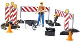 Bruder Bworld Construction Set With Man