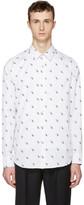 Paul Smith White Dinosaur Tailored Shirt