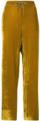 Fabiana Filippi drawstring slim-fit trousers