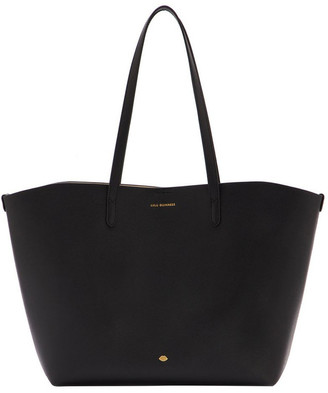 Lulu Guinness Black Ivy Double Handle Tote Bag