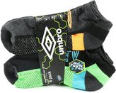 Umbro Men's Low Cut Sport Socks - Pack of 6 Pairs (3 Styles)