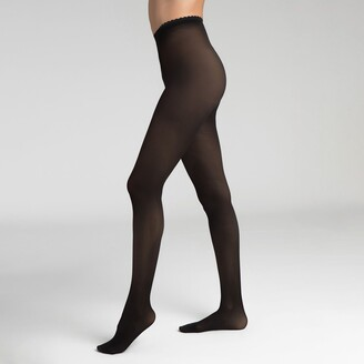 Dim Pack of 8 Body Touch 40 Denier Opaque Tights, Made in France