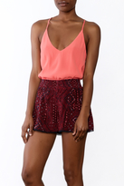 Astr Desiree Soft V-Neck Cami