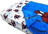 Marvel Spider-Man Webslinger 2pc Toddler Bedding Fitted Sheet Blanket Set