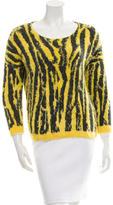 Sachin + Babi Textured Patterned Sweater