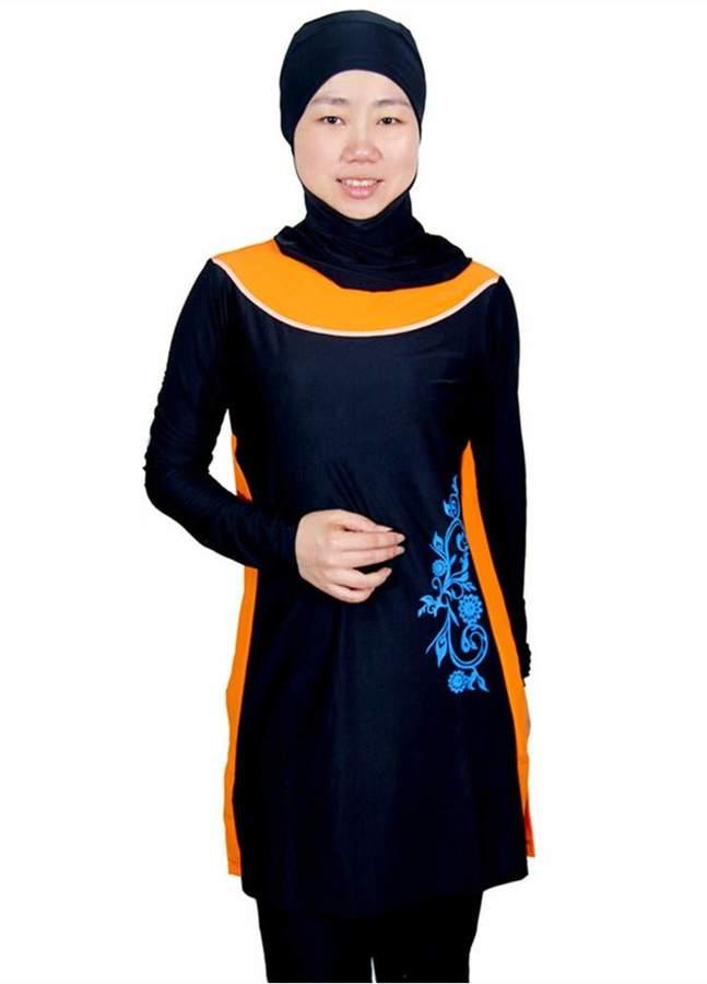 034b1c08a8 Muslim Swimwear Islamic Swimsuit full coverage swimming beachwear swim suit  KXCFCYS Swimwear