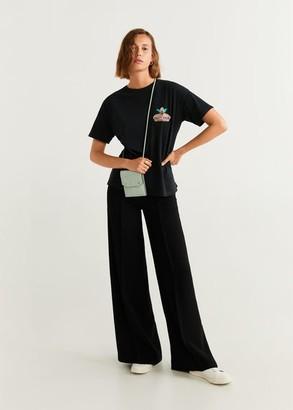 MANGO Simpsons t-shirt charcoal - XS - Women
