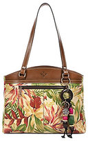 Patricia Nash Cuban Tropical Collection Poppy Satchel