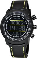 Suunto Men's Elementum Terra SS019997000 Digital Leather Quartz Watch