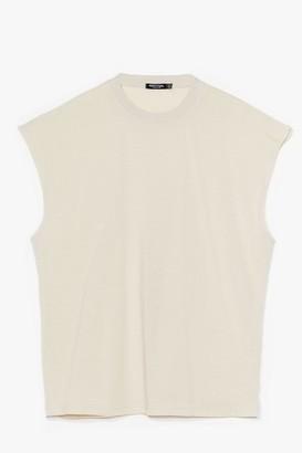 Nasty Gal Womens Crew Do You Love Plus vest Top - Black - 16
