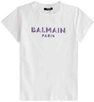Balmain Kids Logo T-Shirt (4-16 Years)