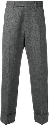 Thom Browne Solid Tweed Trouser
