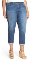 KUT from the Kloth Plus Size Women's 'Catherine' Stretch Slim Boyfriend Jeans