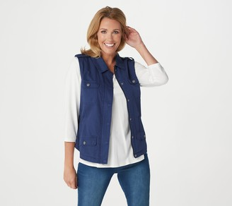 Rachel Hollis Ltd. Casual Vest with Pockets