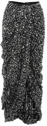 Isabel Marant Sequined midi skirt