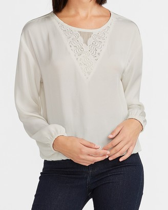 Express Lace Inset Top