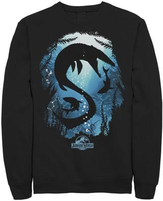 Men's Jurassic World Megalodon Silhouette Sweatshirt