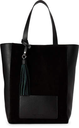 French Connection Linnet Suede Panel Tote