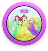 Philips Battery Operated Disney Princess Children's Portable LED Night Light, 0.3 W - Pink