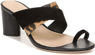 Veronica Beard Zuri 65mm Mixed-Media Sandals