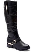 Wild Diva Black Madrid Boot