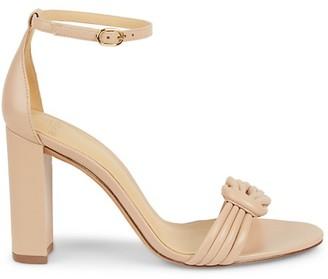 Alexandre Birman Chiara Leather Heeled Sandals