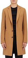 Paul Smith Men's Three-Button Overcoat-TAN