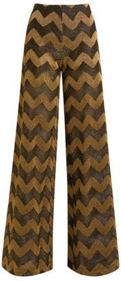 Missoni Zigzag Wide-Leg Trousers