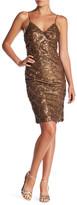 Line & Dot Lotte Sequin Pin Dress