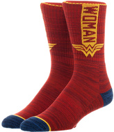 Bioworld Wonder Woman Vertical Crew Socks - Adult