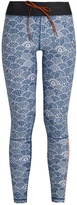 The Upside Shimoda-print performance leggings