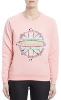 Kenzo Women's Pink Cotton Sweatshirt.