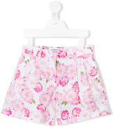 Simonetta floral print shorts - kids - Cotton - 2 yrs