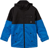 Volcom Blue and Black Cascade Ski Jacket