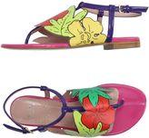 Moschino Cheap & Chic Thong sandals