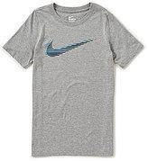 Nike Big Boys 8-20 Short-Sleeve Swoosh Tee
