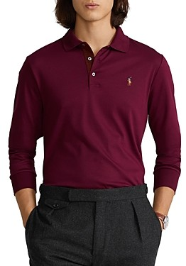Polo Ralph Lauren Classic Fit Soft Cotton Long-Sleeve Polo Shirt