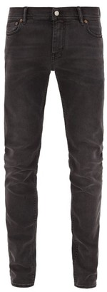 Acne Studios North Slim-leg Cotton-blend Jeans - Black