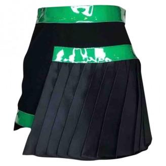 David Koma Black Silk Skirt for Women