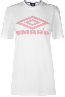 Umbro Logo T Shirt Ladies