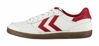 Hummel Victory Leather Unisex Adults Low-Top Sneakers