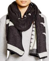 Fraas Whipstitch Tribal Wrap Scarf