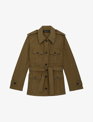The Kooples Safari cotton jacket